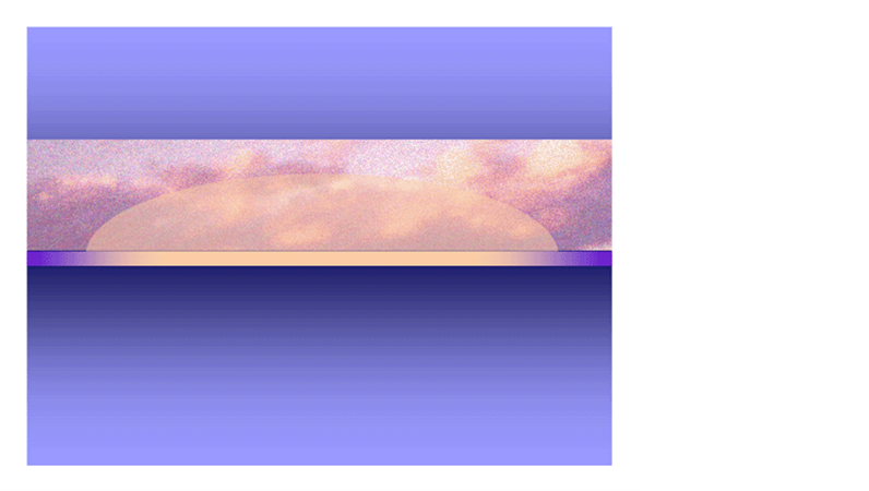 Шаблон оформления «Восход солнца»