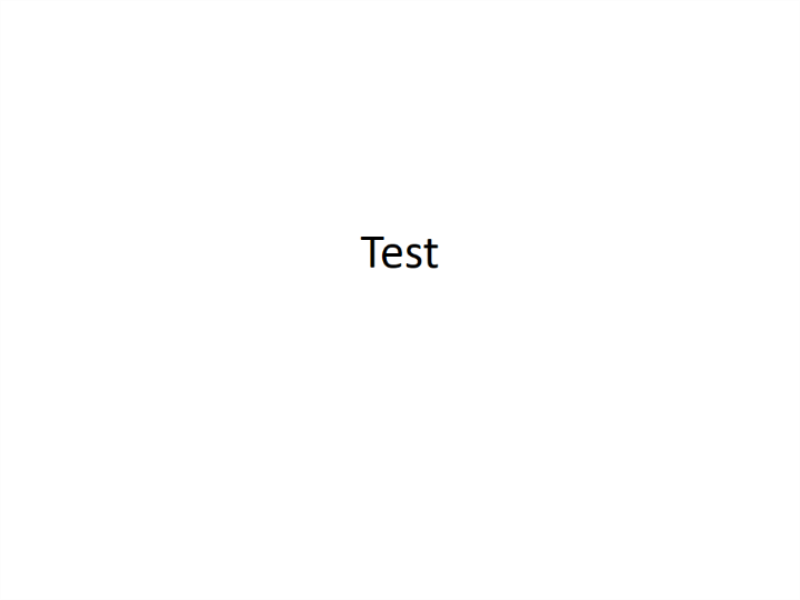 Test Template