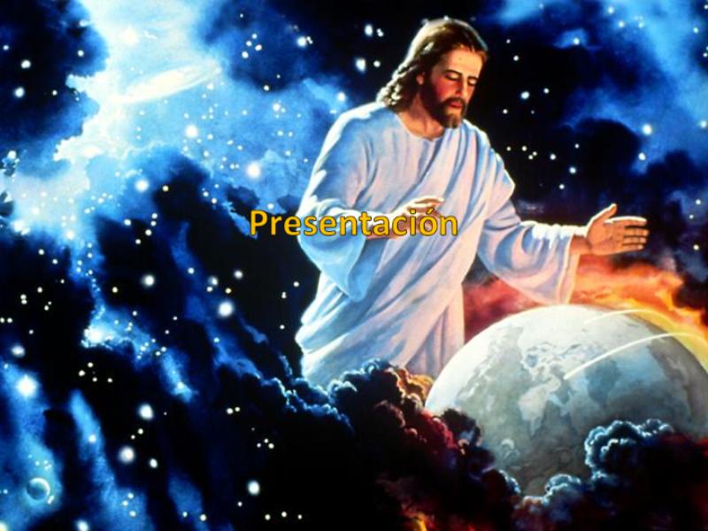 Шаблон оформления с Иисусом Христом