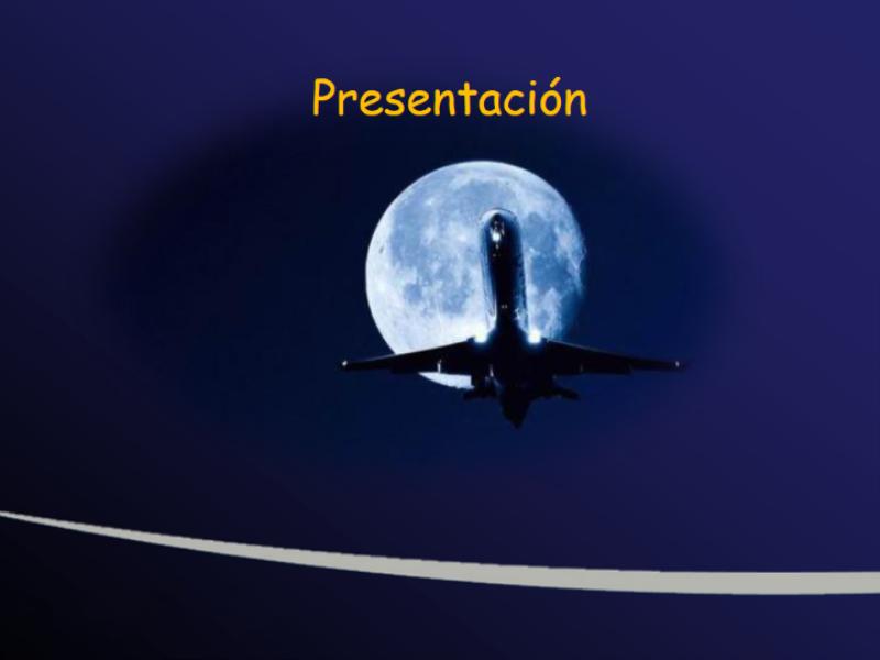 """Шаблон оформления """"Луна и самолет"""""""
