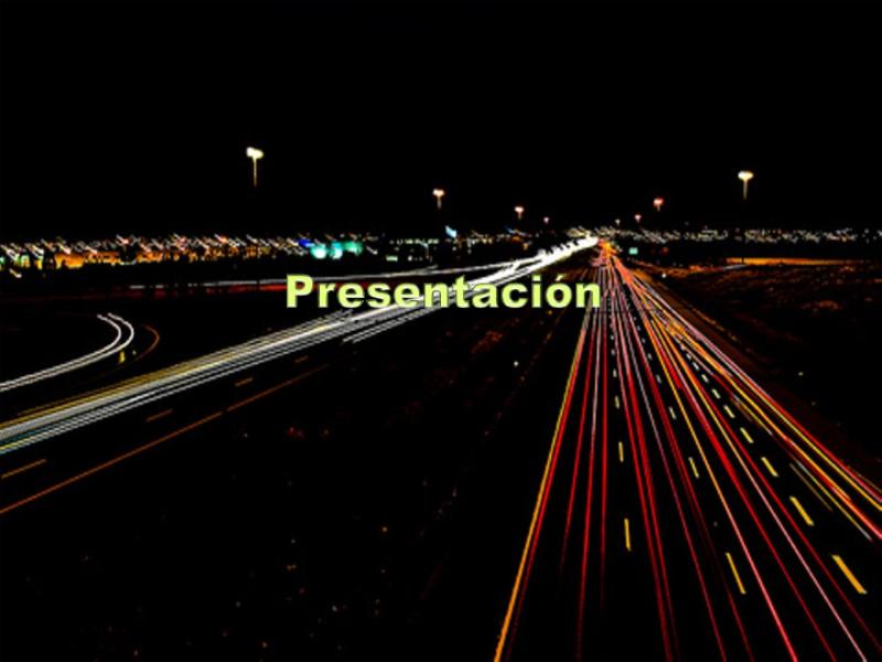 """Шаблон оформления """"Ночное шоссе"""""""