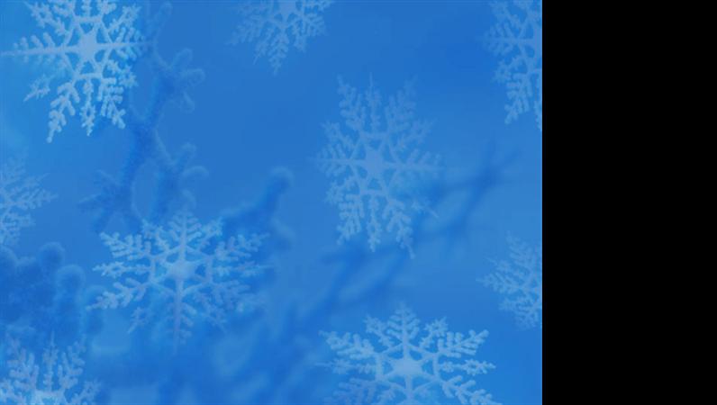 """Шаблон оформления """"Снежинки"""""""