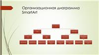 Диаграмма генеалогического дерева (вертикальная, зеленая, красная, широкоэкранная)