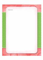 """Почтовая бумага (оформление """"Цветы"""")"""