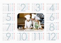 """Календарь на 2010 год """"Юные хозяйки"""" (1 стр.)"""