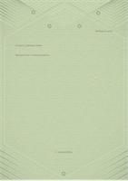 Шаблон для личных писем (изысканное оформление в серо-зеленых тонах)