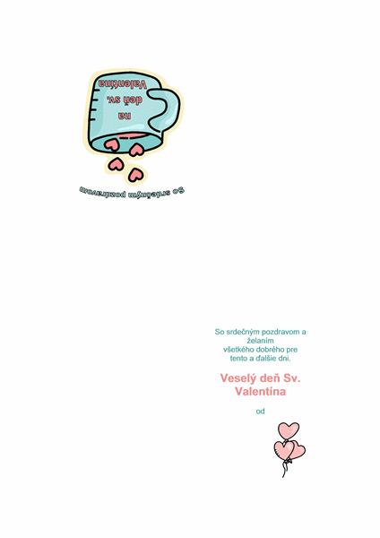 Valentínsky pozdrav
