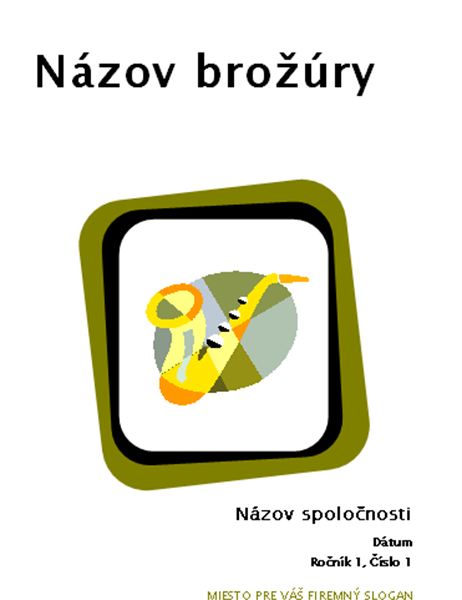 Brožúra pre produkty a služby (8 1/2 x 11, skladaná, 8 strán)
