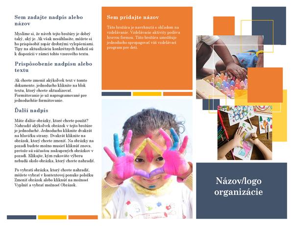 Vzdelávacia brožúra