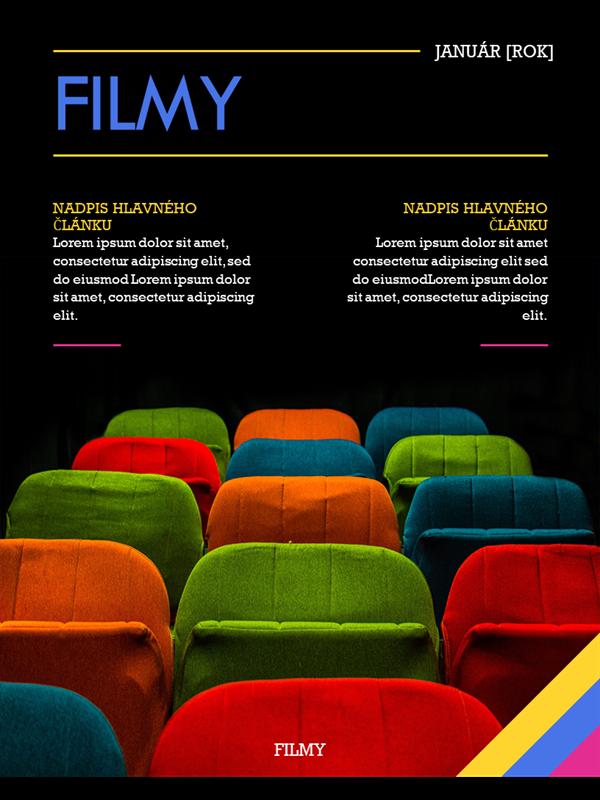 Obálky časopisu o filmoch