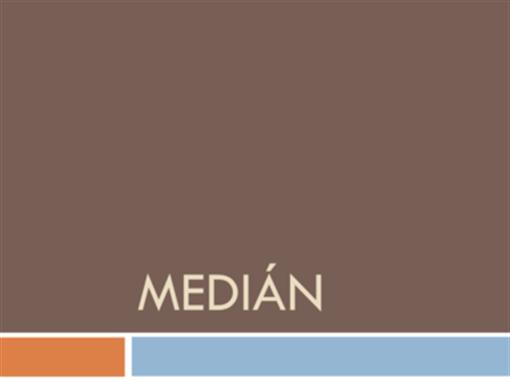 Medián