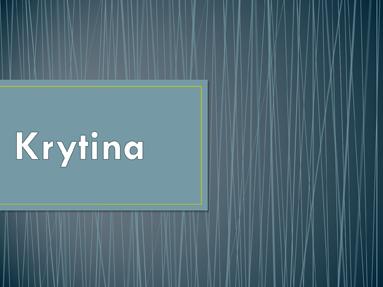 Krytina