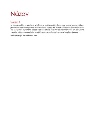 Prázdny dokument s motívom Ion