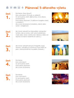 Plánovač výletu