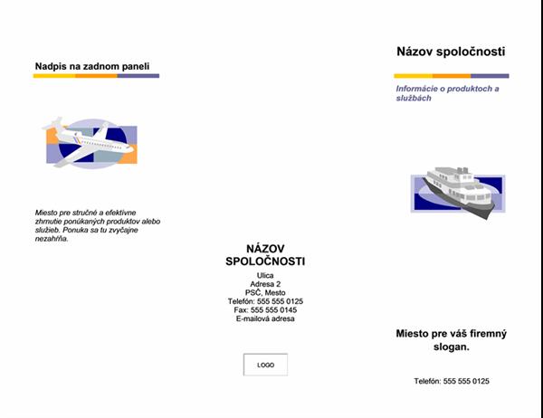 Brožúra (úrovňové usporiadanie)