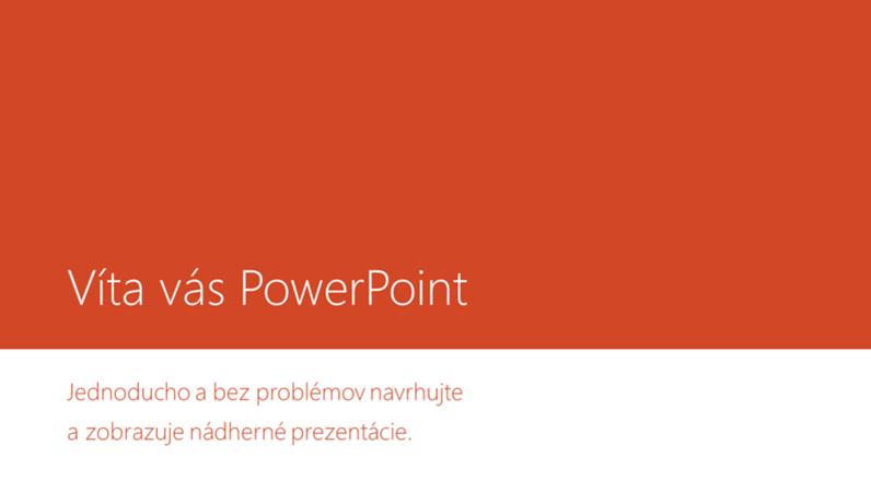 Víta vás PowerPoint