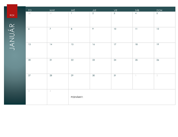 Nekonečný kalendár (motív Ión)