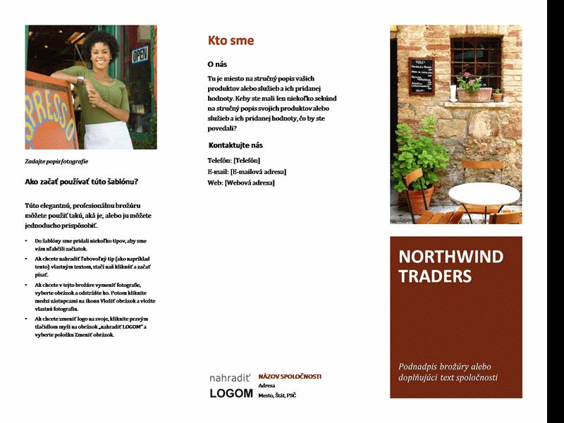 Brožúra pre malý podnik