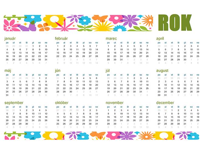 Hravý nekonečný kalendár