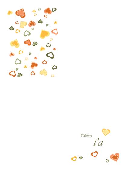 Pohľadnica Ľúbim Ťa