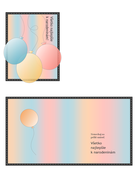 Narodeninová pohľadnica