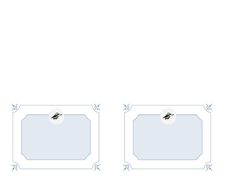 Promočný pozdrav (formálny dizajn)