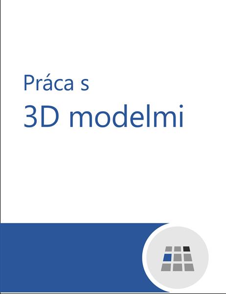 Práca s 3D modelmi vo Worde