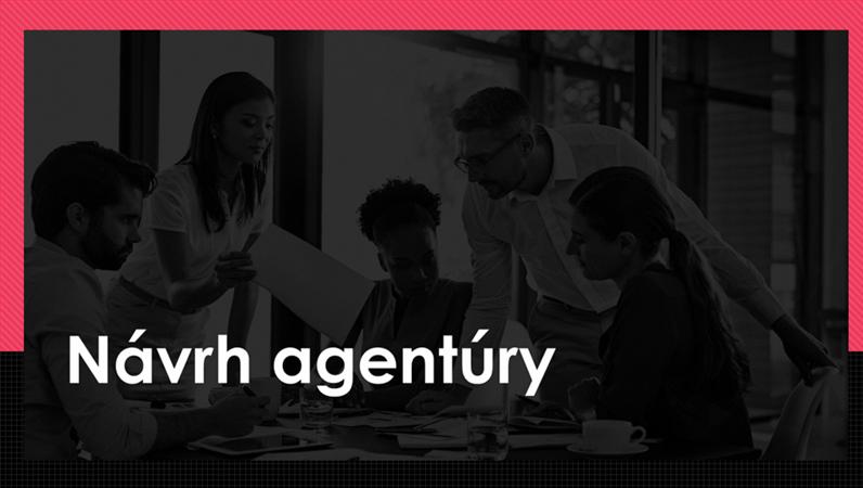 Návrh Citácia pre agentúru