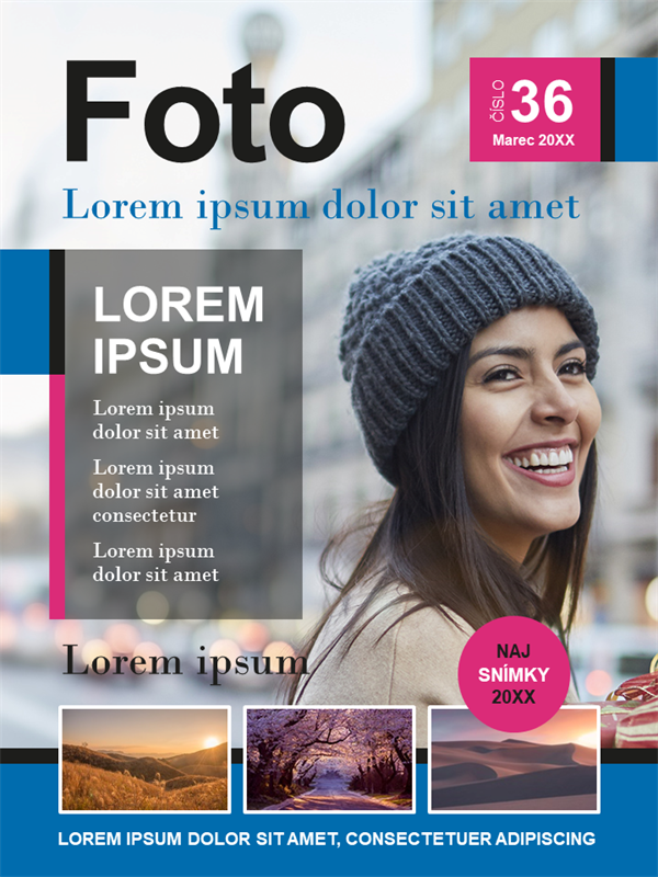 Obálky časopisu o fotografovaní