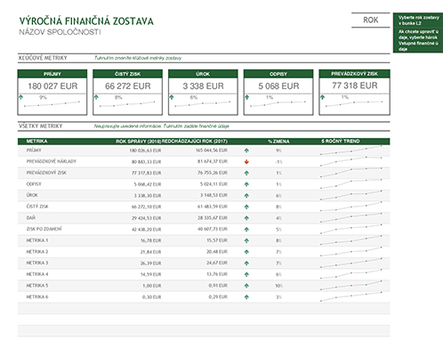Výročná finančná zostava