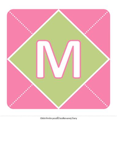 Transparent knarodeniu dievčatka (ružová, fialová, zelená)