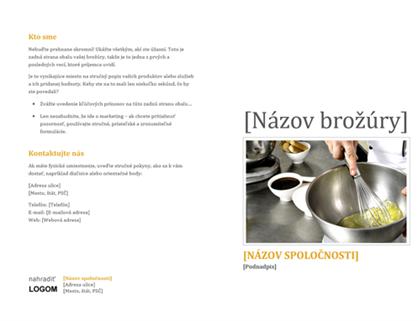 Brožúra pre produkty a služby