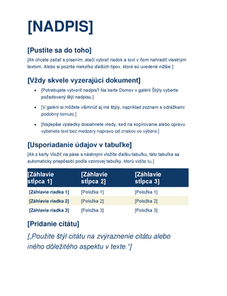 Všeobecný dokument (obežník)