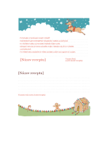 Kartičky na vianočné recepty