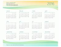 Kalendár pre malé podniky (ľubovoľný rok)