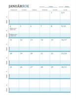 Kalendár s rozvrhom