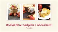 Jedlo – príprava na prezentáciu (širokouhlý formát)
