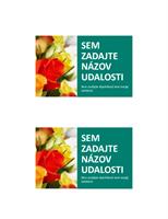 Pohľadnica na oznámenie podujatia