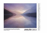 12-mesačný kalendár s fotografiami na rok 2013