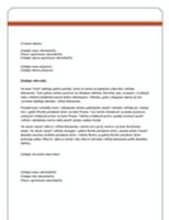 List (solídny vzhľad)