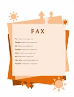 Titulná strana faxu