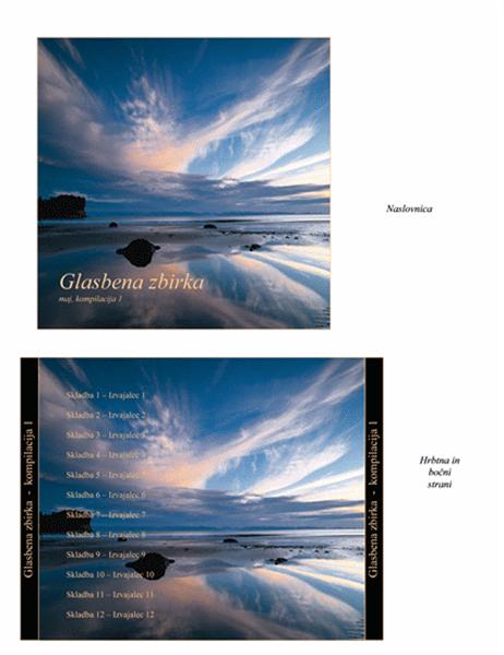 Ovitek CD-ja z glasbeno zbirko