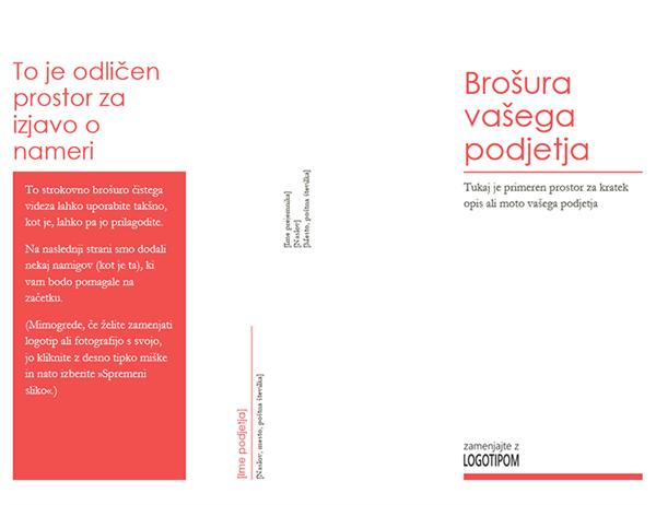 Brošura podjetja