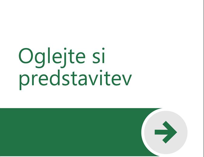Dobrodošli v Excelu