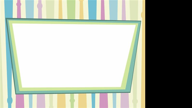 Predloga načrta z motivom barvnih črt