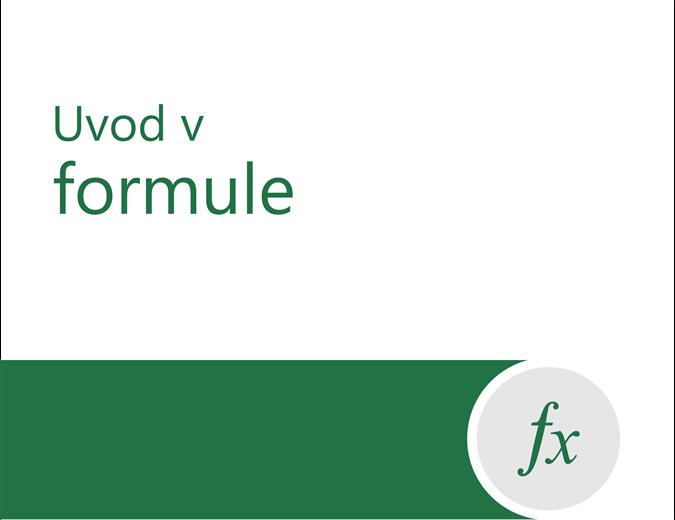 Vadnica za formule