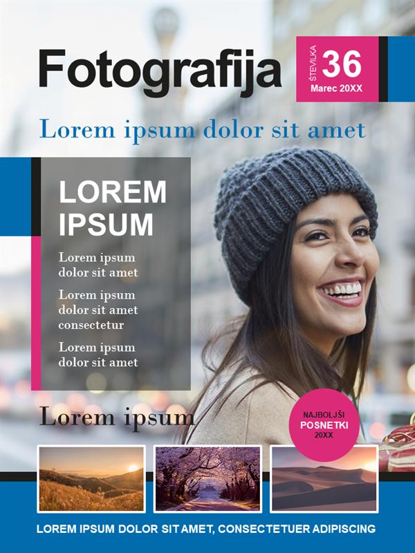 Naslovnice za fotografske revije