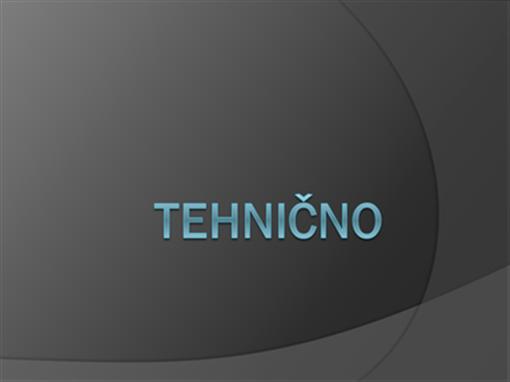 Tehnično