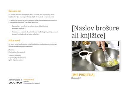 Knjižica za izdelke in storitve