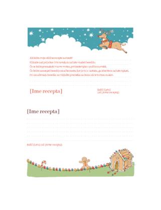 Kartice z božičnimi recepti